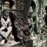 Aging Preah Kahn figures