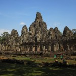 The mighty Bayon (and the mighty clean-up crew)