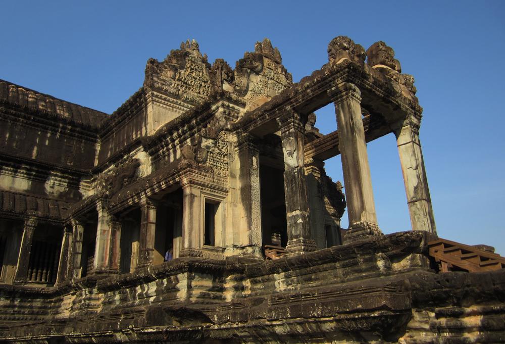 """The """"front door"""" of Angkor Wat."""