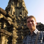 Exploring the upper level of the Bayon