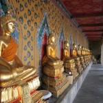 Wat Arun's hall of Buddhas