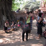 Ayutthaya's most photographed face