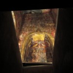 Sneaking a peak inside the burial chamber