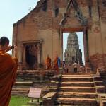 Even monks appreciate a good photo op