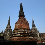 Wat Phra Si Sanphet symmetry