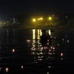 Wishes float down the Ganges