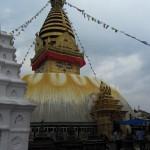 Swayambhunath's Buddha eyes are watching