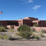 The Painted Desert Inn, once a soda fountain/cafe for visitors