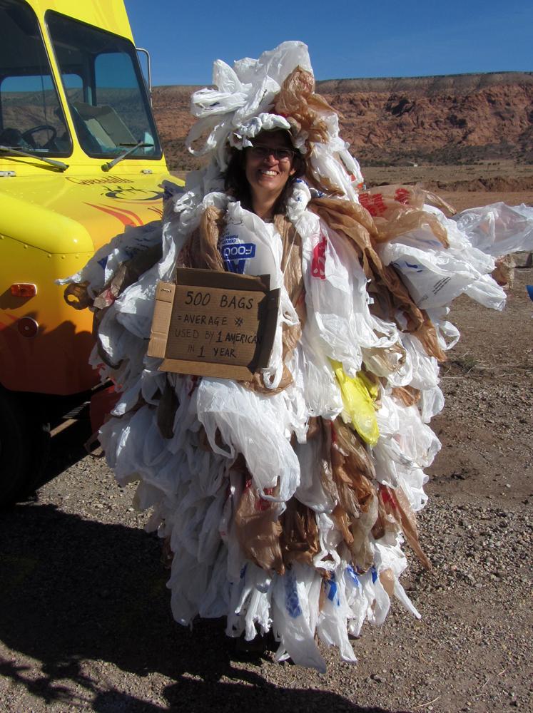 Plastic Bag Lady
