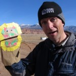 Ken's puppet version of- what else?- a Navajo Taco
