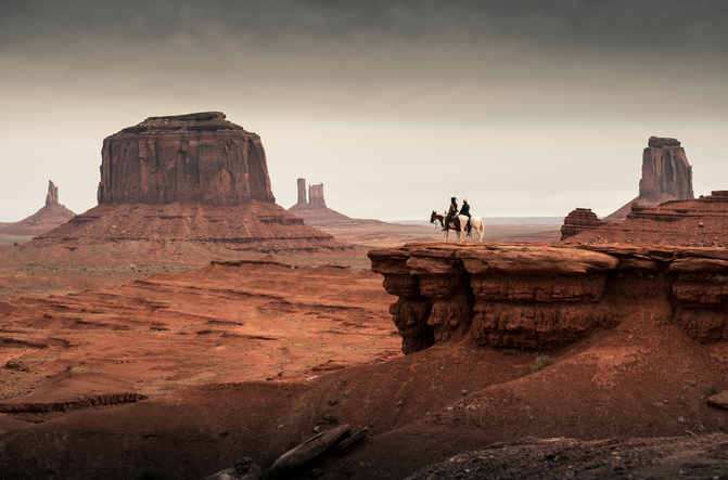 ... and apparently the new Lone Ranger stole his act. Here's a still from the film's website.