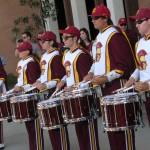 Pre-game drumline