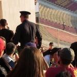 Police escort