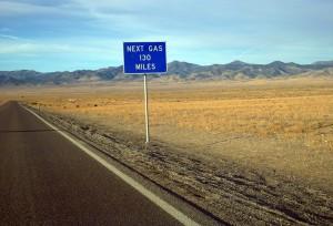 Next gas 130 miles