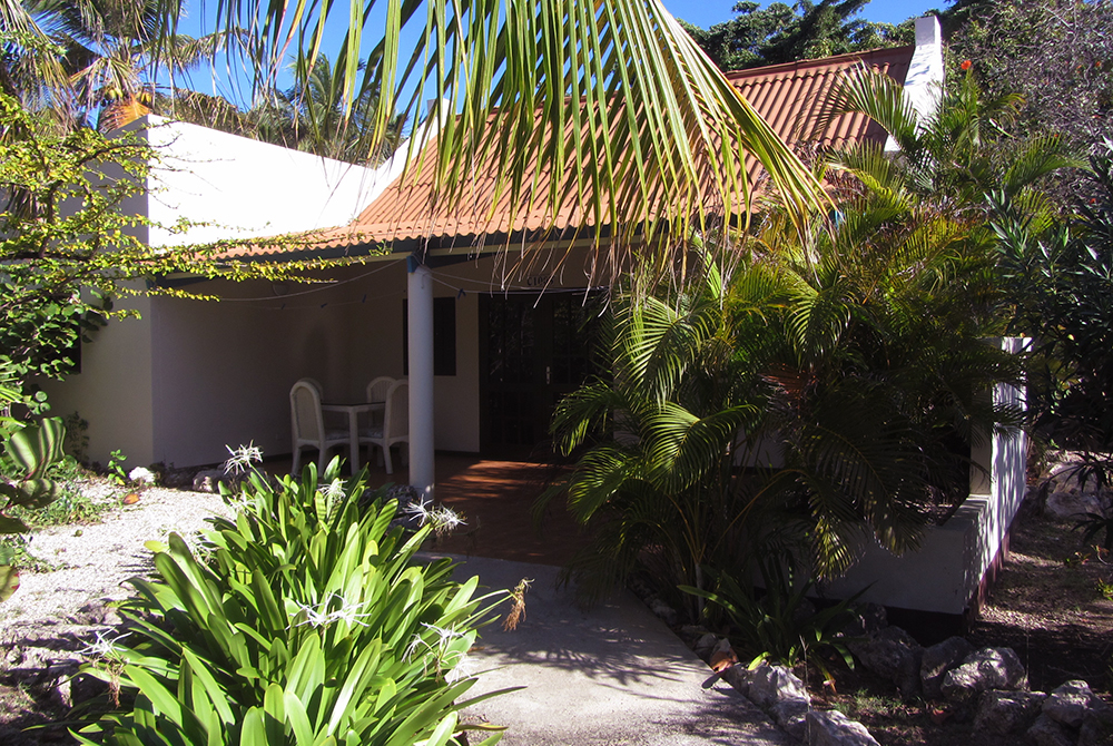 Our tropical bungalow