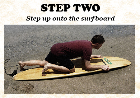 Surfing Step Two