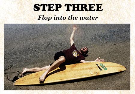 Surfing Step Three