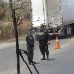 Policia checkpoint