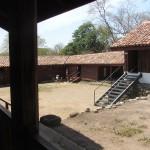 Casona courtyard