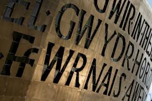 Cymru letters