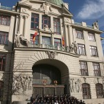 Town Hall graduation