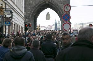 Tourist mob
