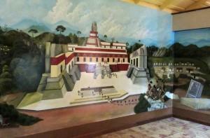 Cahal Pech mural