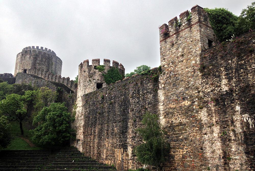 Rumeli Fortress wall