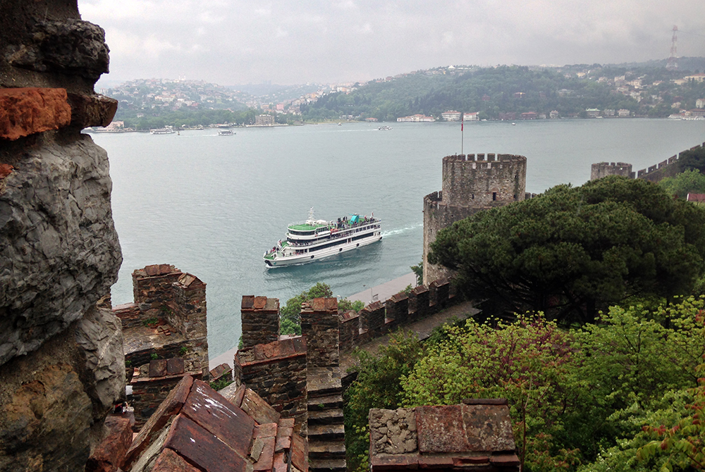 Rumeli Fortress on the Bosphorus