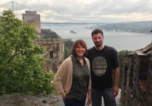 Rumeli Fortress- Karen & Jamie