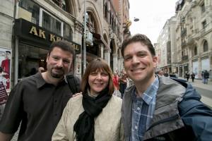 Jamie, Karen, and Ken