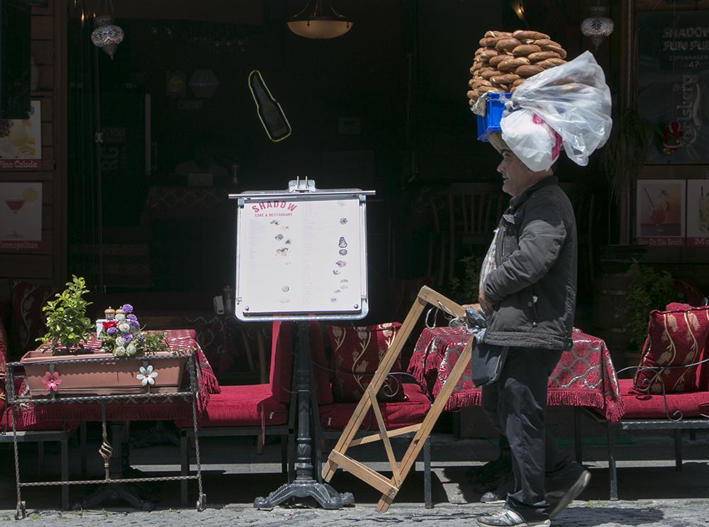 Selling bread