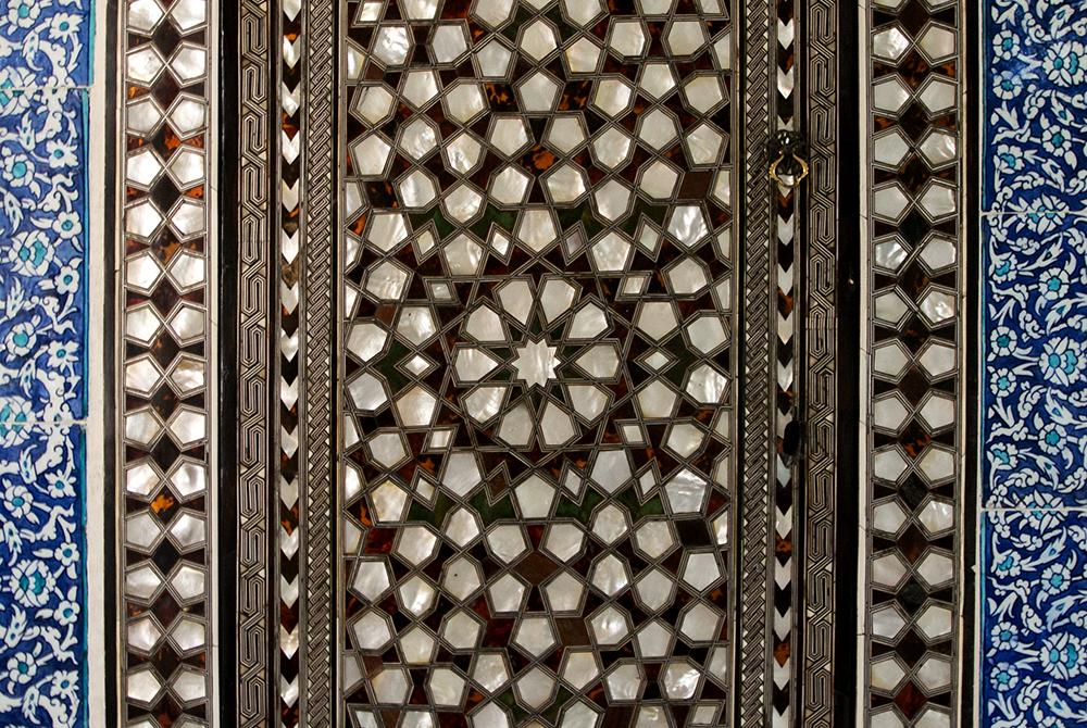 Topkapi tiled door