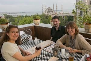Blue Mosque dinner