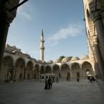 Suleymaniye Mosque courtyard