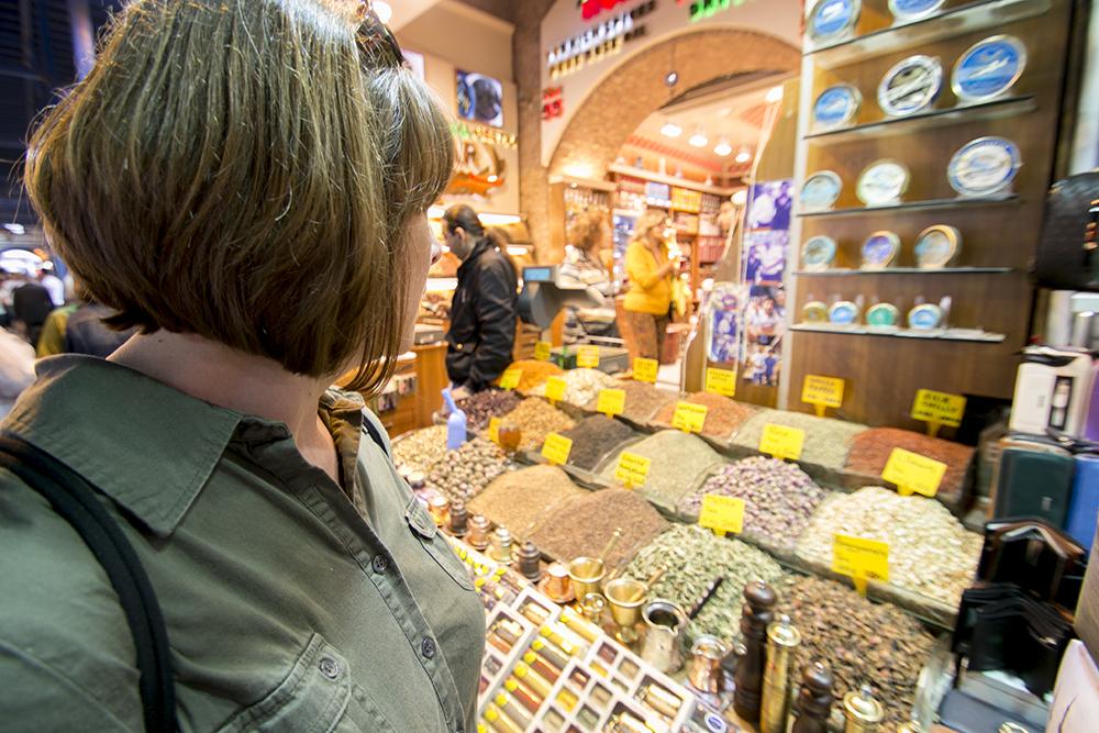 Spice Market stall
