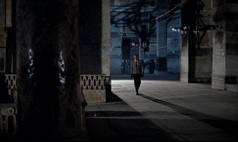 Bond enters Hagia Sophia