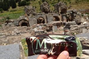 Magnum wrapper at Efes