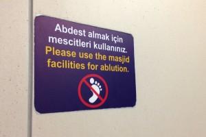 No ablution